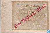 Bankbiljetten - Reichsbanknote - Duitsland 1 Miljard  Mark
