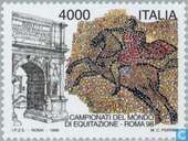 Postage Stamps - Italy [ITA] - World Equestrian Games