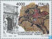 Timbres-poste - Italie [ITA] - Jeux équestres mondiaux