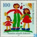 Postage Stamps - Germany, Federal Republic [DEU] - Family gives future