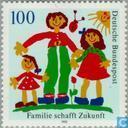 Timbres-poste - Allemagne, République fédérale [DEU] - Famille donne aux futurs