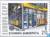 Postage Stamps - Greece - Europe – Post offices