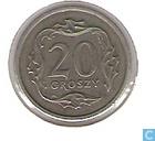 Monnaies - Pologne - Pologne 20 groszy 1990