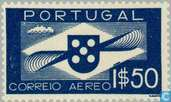 Postage Stamps - Portugal [PRT] - Airplane propeller