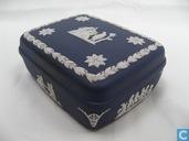 Ceramics - Jasperware - Wedgwood Rechthoekig Doosje Engelen en Muzes