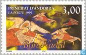 Postage Stamps - Andorra - French - Angel