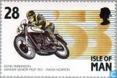 Timbres-poste - Man - Courses TT