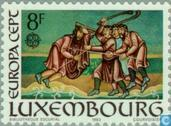 Postage Stamps - Luxembourg - Europe – Human Genius