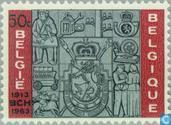 Postage Stamps - Belgium [BEL] - Anniversary of the postal check service