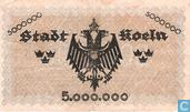Banknotes - Köln - Stadt - Köln 5 million Mark