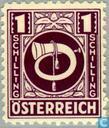 Postzegels - Oostenrijk [AUT] - Posthoorn