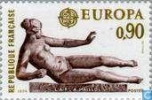 Postage Stamps - France [FRA] - Europe – Sculptures