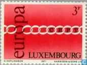 Postage Stamps - Luxembourg - Europe – Rings
