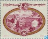 Postage Stamps - Liechtenstein - Castles
