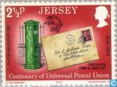 Postage Stamps - Jersey - 100 years of UPU