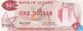 Guyana 1 Dollar ND (1989)