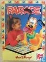 Board games - Memo (memory) - Disney Parade Memory
