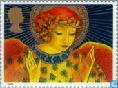 Postage Stamps - Great Britain [GBR] - Christmas - Angels