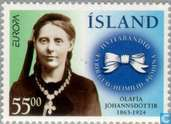 Postage Stamps - Iceland - Europe – Famous women