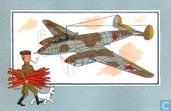 "Comics - Kuifjesbon producten - Chromo's ""Vliegtuigen '39-'45"" 34"