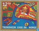 Postage Stamps - Norway - Trondheim