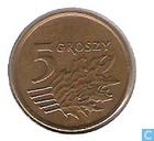 Monnaies - Pologne - Pologne 5 groszy 1991