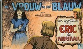 De vrouw in het blauw