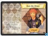 Trading cards - Harry Potter 4) Adventures at Hogwarts - Ron the Brave