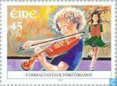 Postage Stamps - Ireland - Irish Music Association