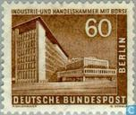 Postage Stamps - Berlin - Buildings in Berlin