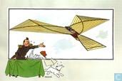 """Strips - Kuifjesbon producten - Chromo's """"Vliegtuigen oorsp. tot 1700"""" 3"""