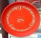 Divers - Coca-Cola - dienblad Frankrijk