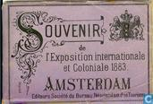 Souvenir de l'Exposition internationale et Coloniale 1883 Amsterdam
