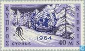 Timbres-poste - Chypre [CYP] - Nations Unies imprimé