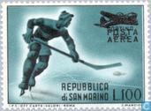 Postzegels - San Marino - Opdruk