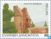 Postage Stamps - Greece - Castles