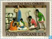 Timbres-poste - Vatican - Noël