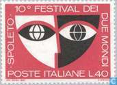 Postage Stamps - Italy [ITA] - Festival of the two worlds