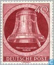Postage Stamps - Berlin - Bell of Fredom, clapper right