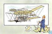 """Comics - Kuifjesbon producten - Chromo's """"Vliegtuigen oorsp. tot 1700"""" 8"""