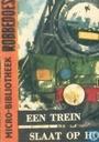 Een trein slaat op hol
