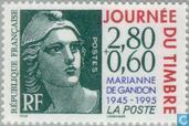 Postage Stamps - France [FRA] - Stamp Day - Marianne (type Gandon)