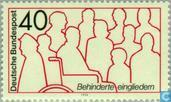 Postage Stamps - Germany, Federal Republic [DEU] - Disability rehabilitation