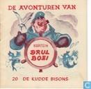 Bandes dessinées - Kapitein Brul Boei - De kudde bisons