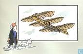 """Comics - Kuifjesbon producten - Chromo's """"Vliegtuigen oorsp. tot 1700"""" 11"""