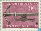 Postage Stamps - Liechtenstein - Hunting Weapons