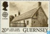 Postage Stamps - Guernsey - Europe – Post offices