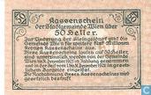 Bankbiljetten - Wien - Stadtgemeinde - Wien 50 Heller 1920