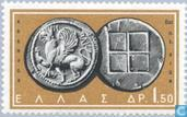 Postage Stamps - Greece - Greek coins