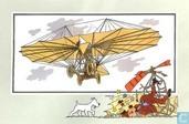 """Comics - Kuifjesbon producten - Chromo's """"Vliegtuigen oorsp. tot 1700"""" 14"""